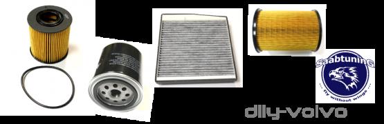 Filtry S40, V40 (-04)