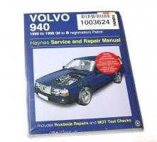 Haynes Servisní manuál Volvo 940, anglický